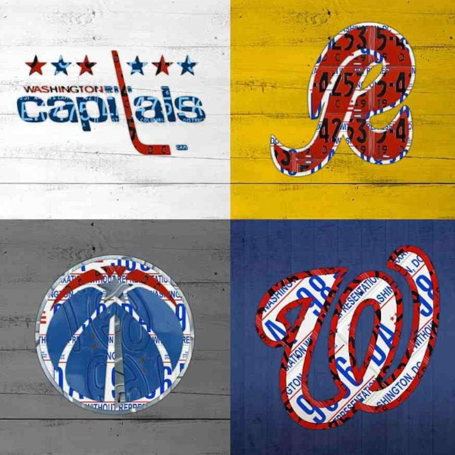 Capitals Photograph - Shout To #washingtondc #capitals by Design Turnpike