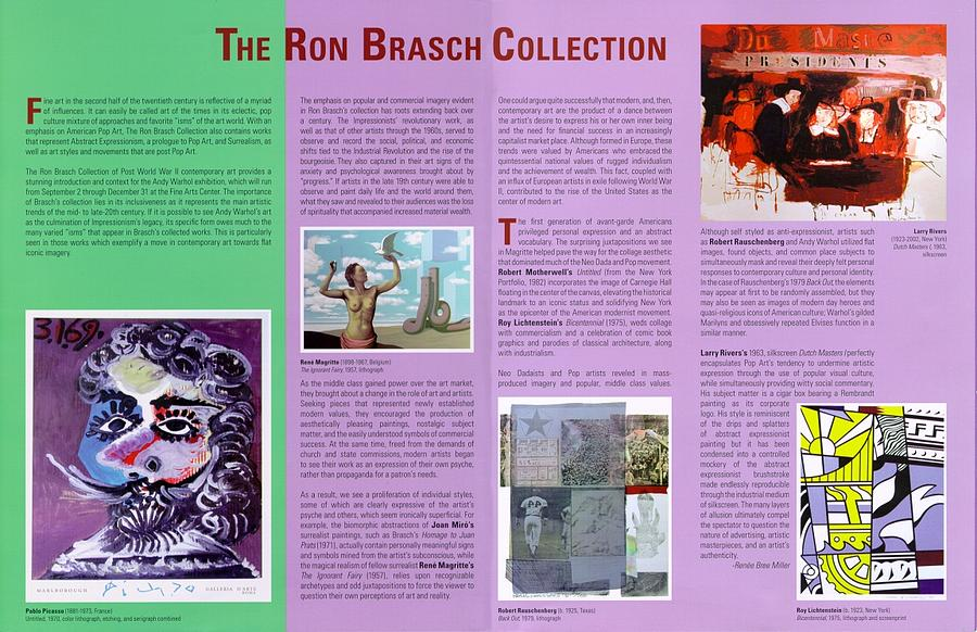 Show Brochure Digital Art by The Ron Brasch Collection