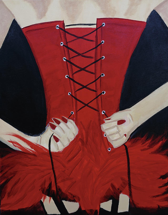 Show Girl Painting - Show Girl by Aj