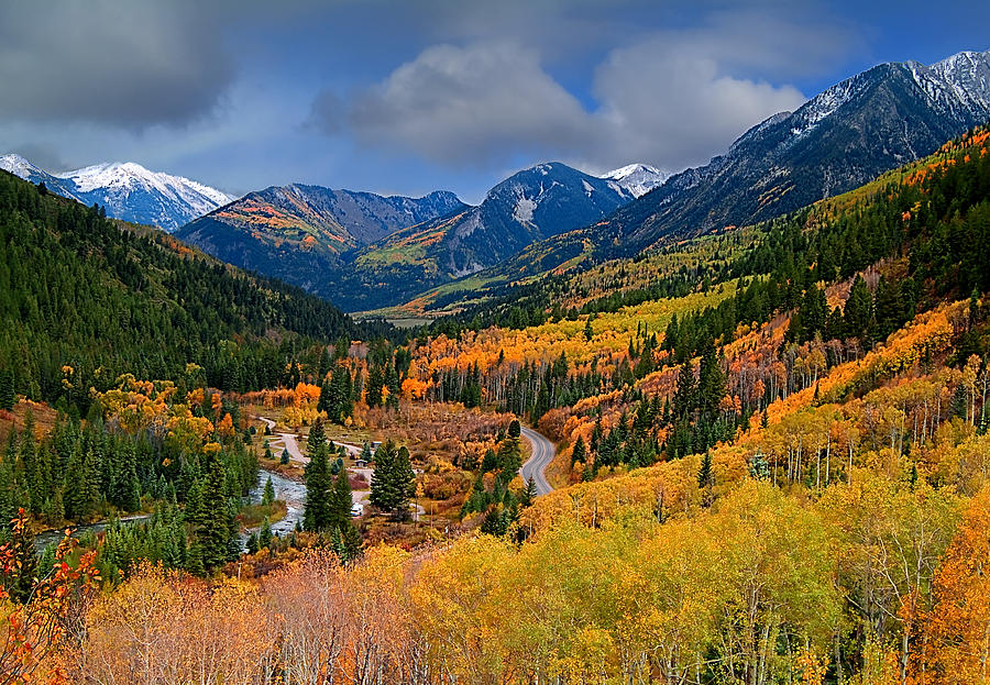 Rocky Mountains Photograph - Show Me The Way by Tim Reaves
