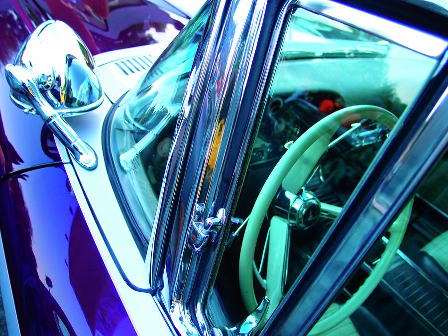 Car Photograph - Showdown 2 by Skip Hunt