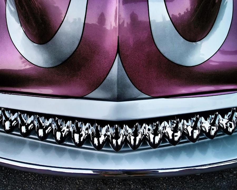 Car Photograph - Showdown 4 by Skip Hunt
