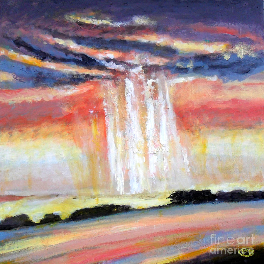 Showers At Sunset Painting