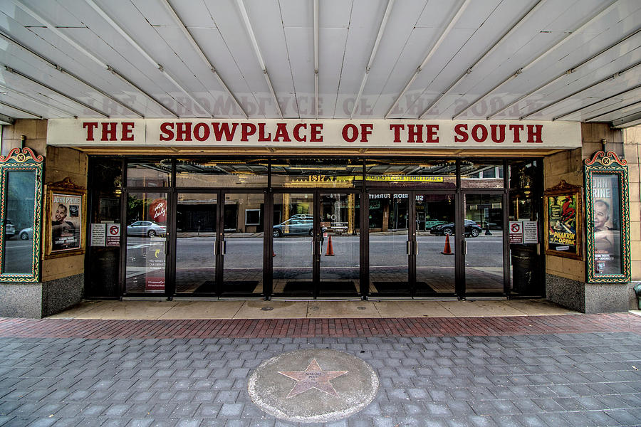 Theater Photograph - Showplace by Mike Dunn