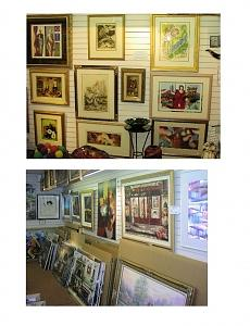 Showroom Artworks Painting by Various Artists