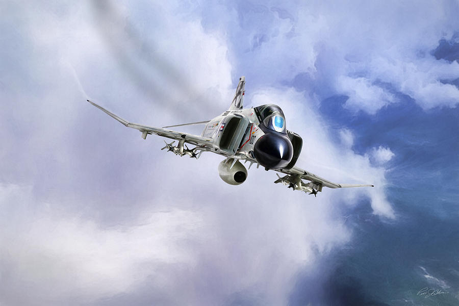 Aviation Digital Art - Showtime 100 by Peter Chilelli