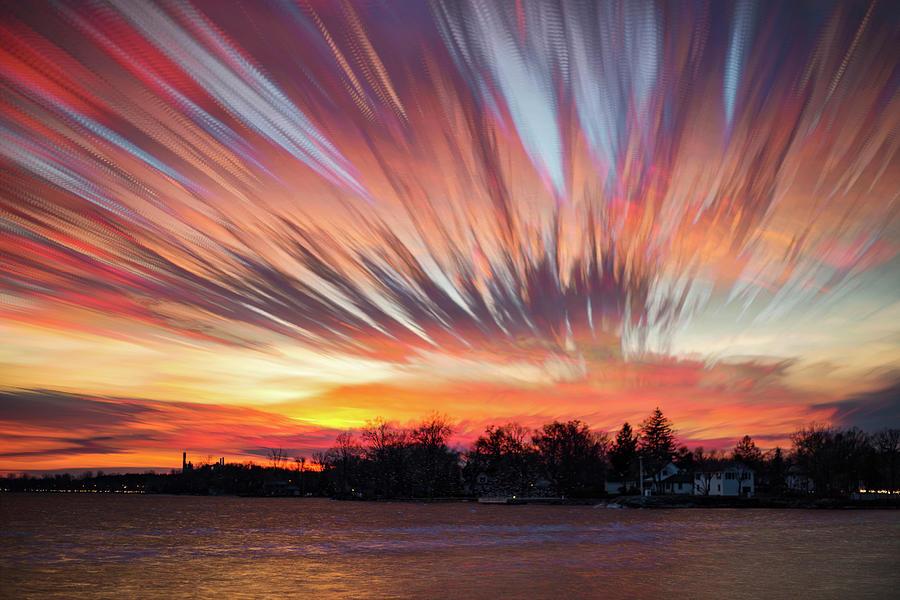 Matt Molloy Photograph - Shredded Sunset by Matt Molloy