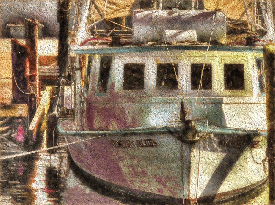 Shrimp Boat Midnight Blues by Cathy Jourdan