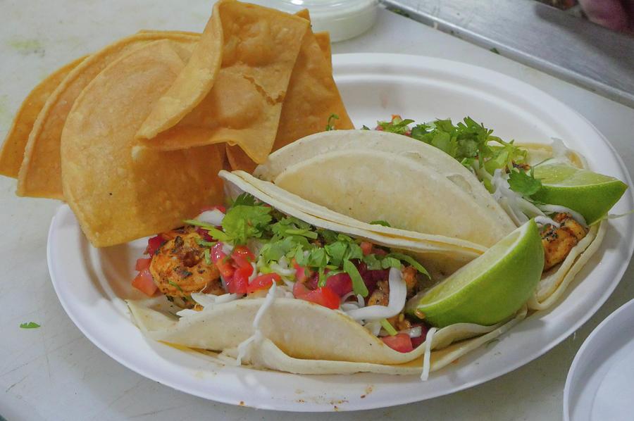 Taco Photograph - Shrimp Taco by Billy Joe