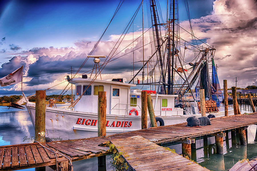 Shrimper at Rest by Joseph Desiderio