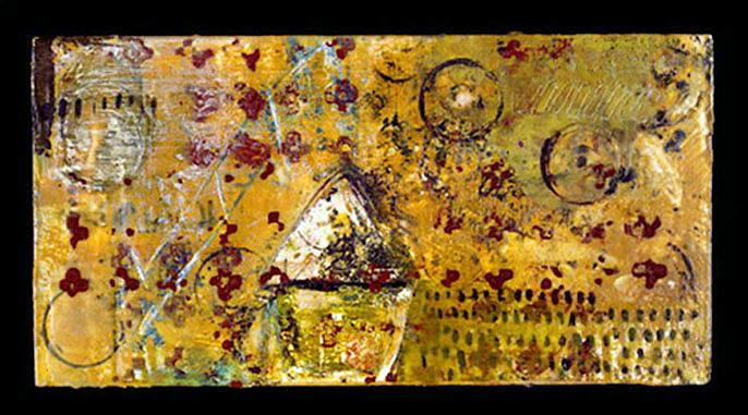 Shrine Painting - Shrine by Lynn Bregman-Blass