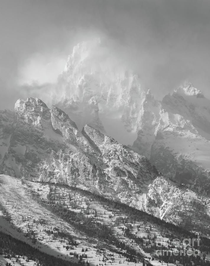 Shrouded Peak by Carol Beverly