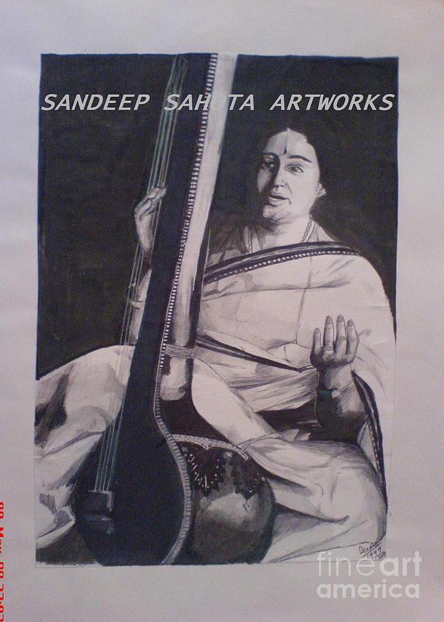 Tom Cruise Painting - Shubha Mudhgal by San Art Studio