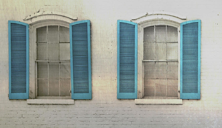 Home Photograph - Shutter Blue by JAMART Photography