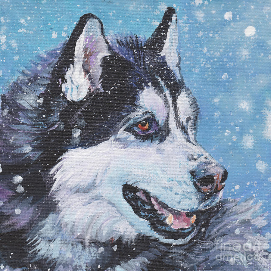 Siberian Husky Painting - Siberian Husky by Lee Ann Shepard