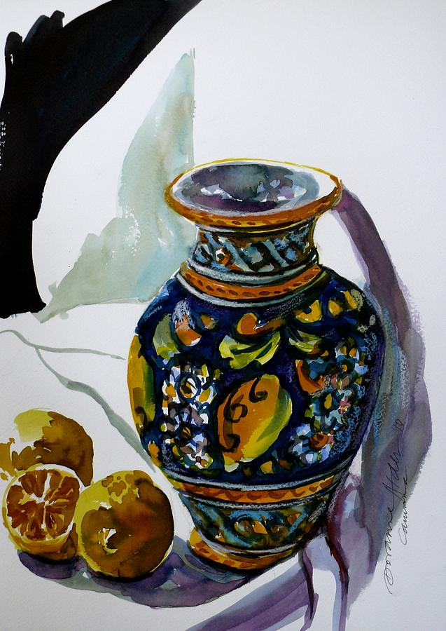 Watercolour Painting - Sicilian Dreams by Doranne Alden