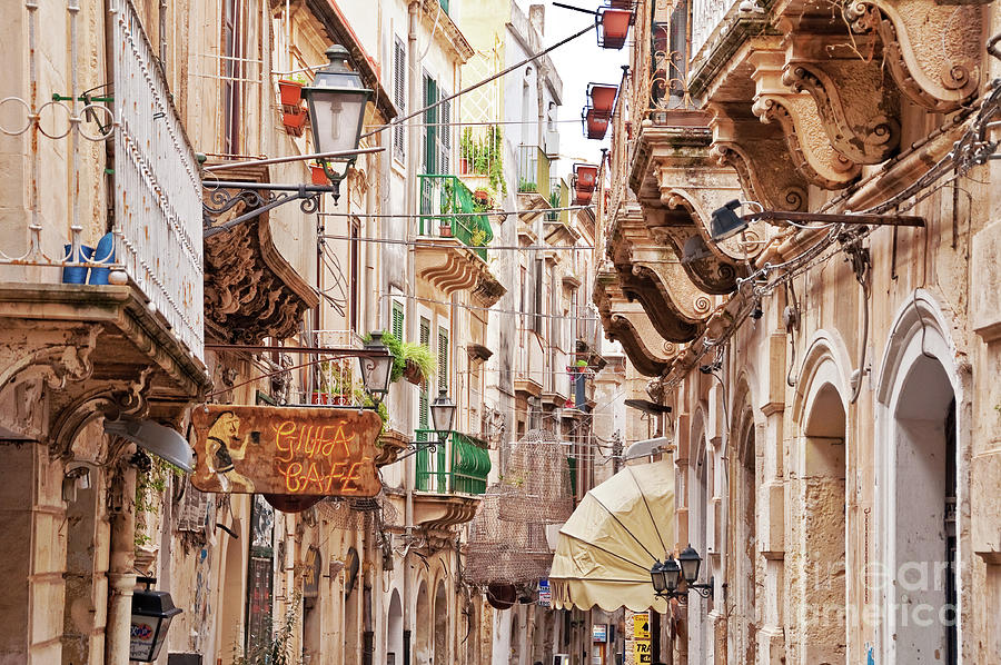 Syracuse Photograph - Sicily by Delphimages Photo Creations