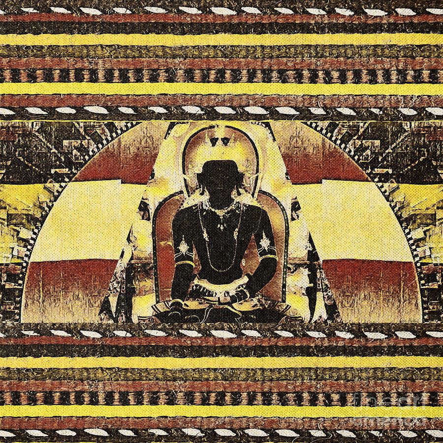 Buddha Mixed Media - Siddhartha Gautam by Lita Kelley