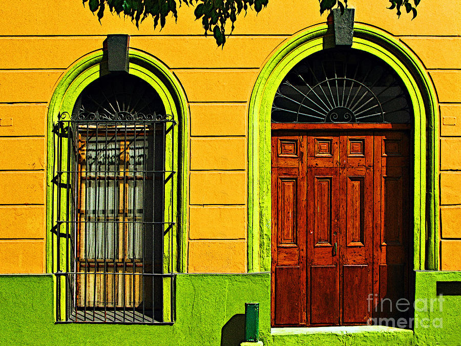 Darian Day Photograph - Side Door By Darian Day by Mexicolors Art Photography
