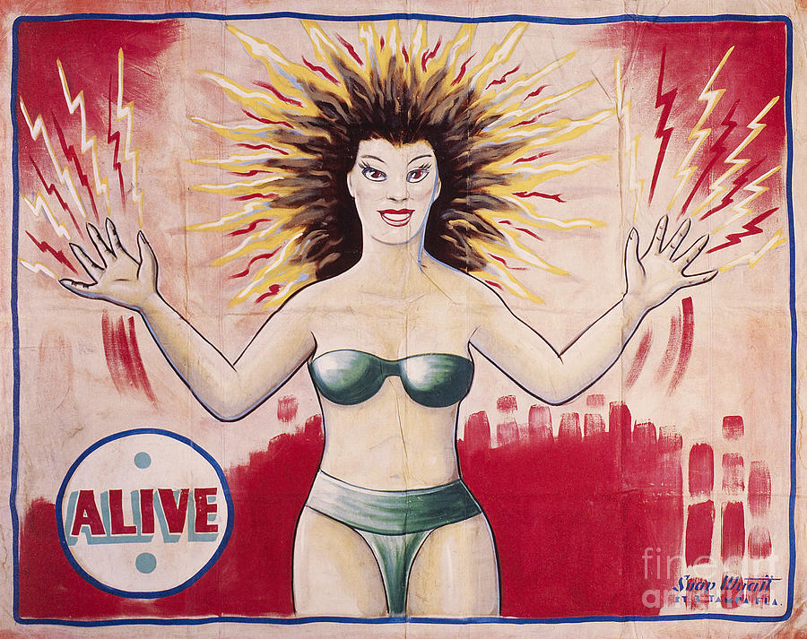 1960s Photograph - Sideshow Poster, C1965 by Granger