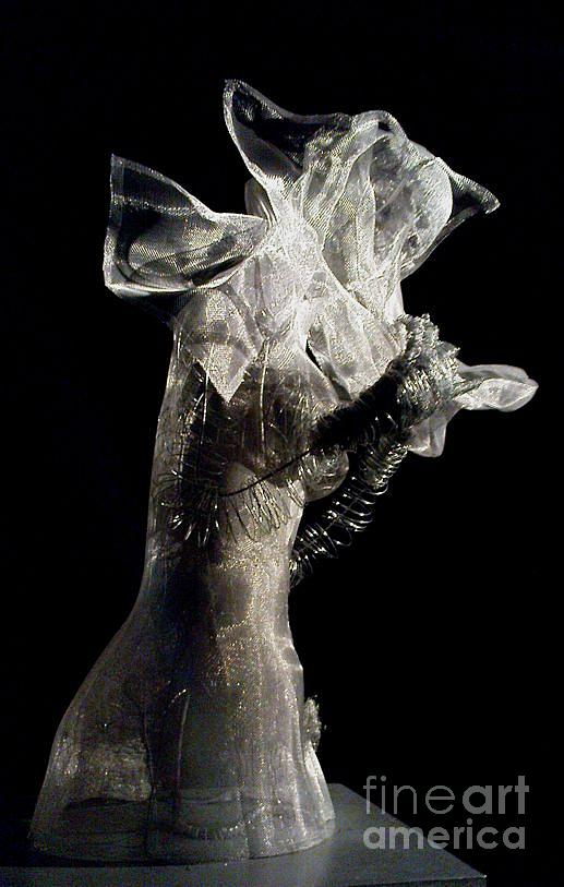 Woman Sculpture - Sideview by Lydie Dassonville