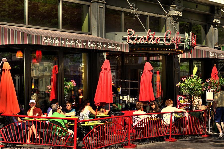 Denver Photograph - Sidewalk Cafe by Laurie Prentice