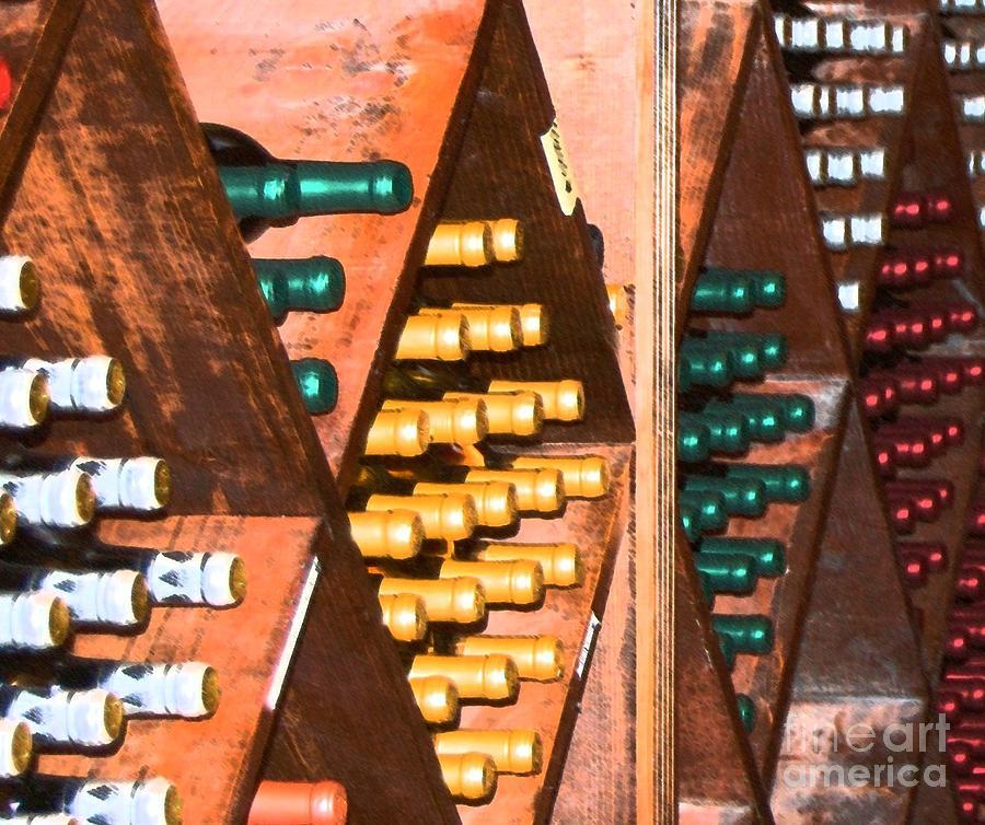 Wine Photograph - Sideways by Debbi Granruth