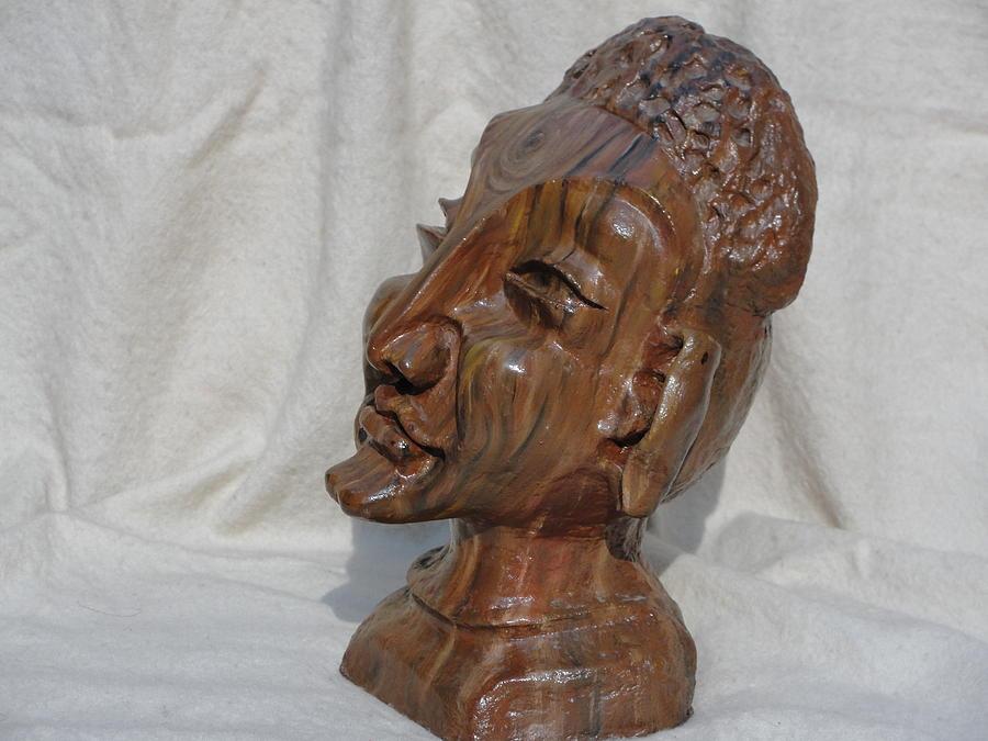 Face Sculpture - Sidhartha by Rajesh Chopra