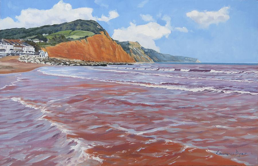 Sidmouth Painting - Sidmouth by Lawrence Dyer