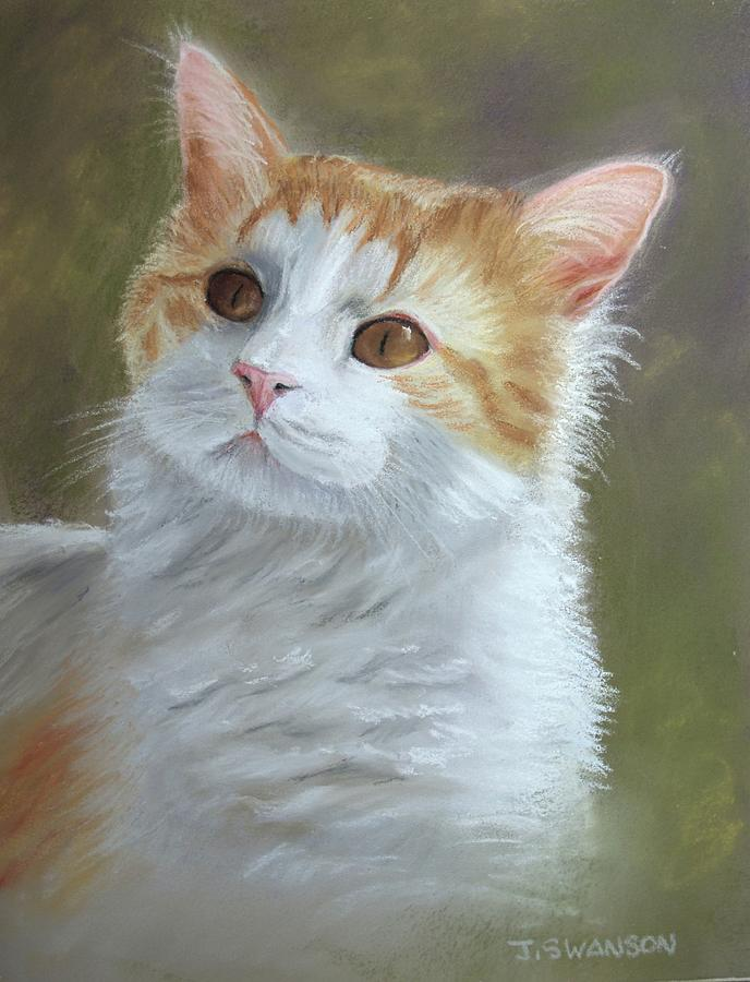 Cat Pastel - Sienna by Joan Swanson