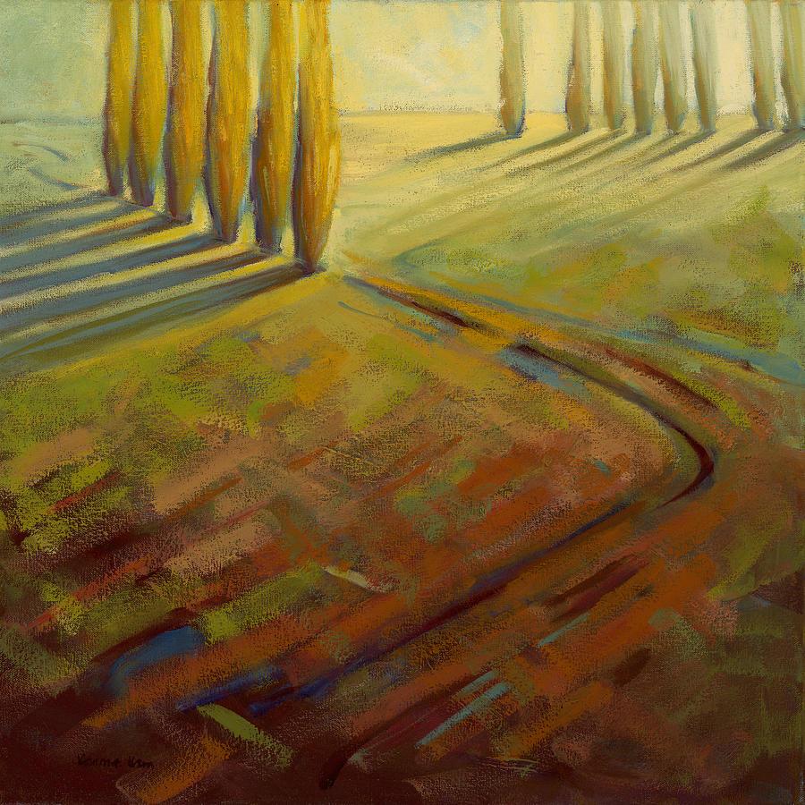 Landscape Painting - Sienna by Konnie Kim