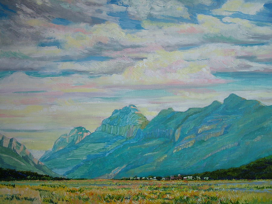 Sierra Madre near Saltillo Painting by Nancy Paris Pruden