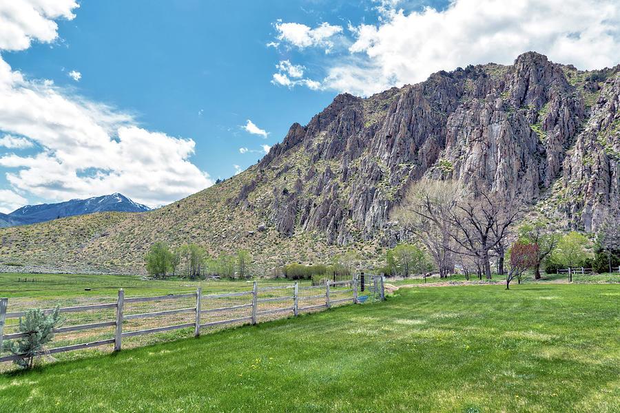 Sierra Nevada Mountain Range Photograph