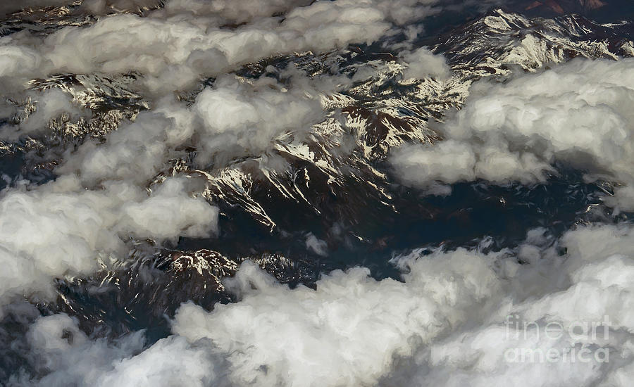 Sierra Nevada Mountains Photograph - Sierra Nevada Mountains  by David Oppenheimer