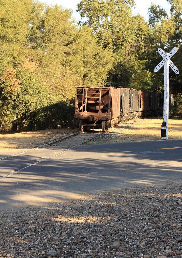 California Photograph - Sierra Railway Hoppers by Troy Montemayor