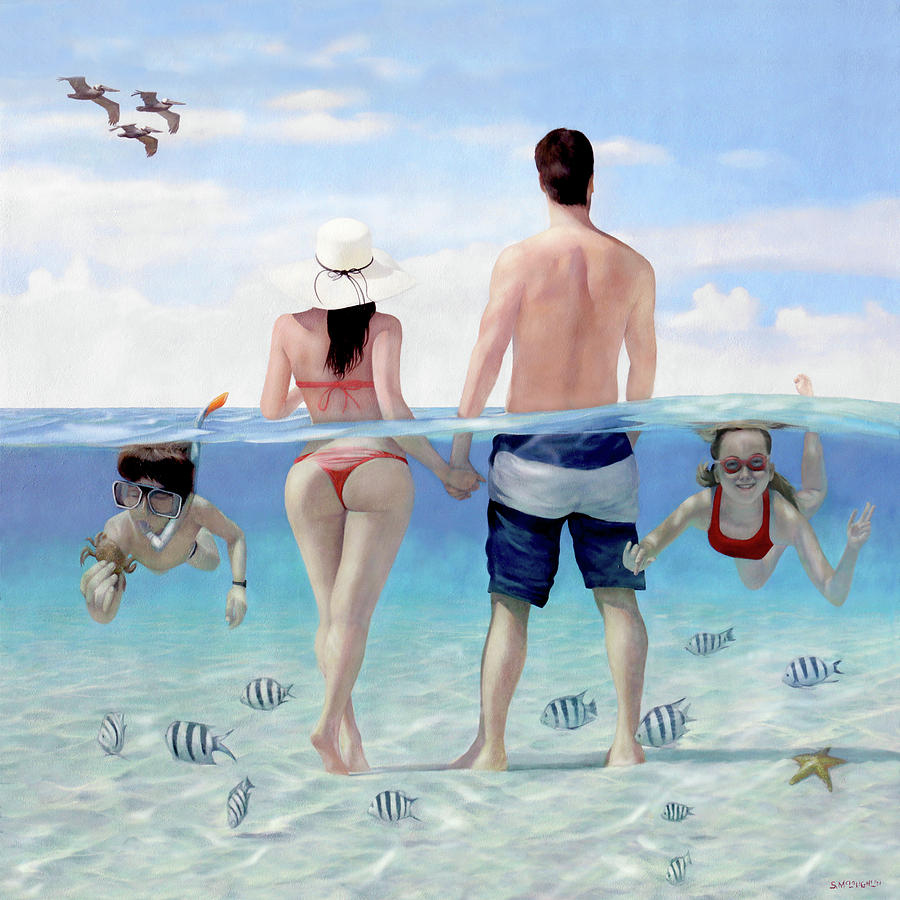 Siesta Beach Resort and Spa Mural by Shawn McLoughlin