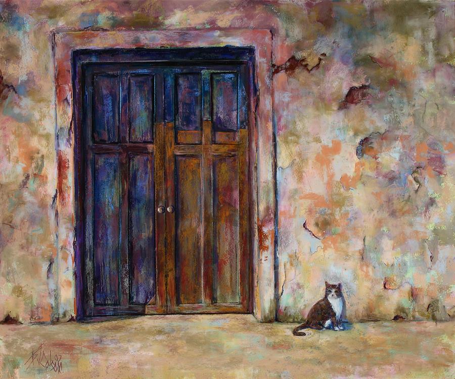 Doorway Painting - Siesta by Billie Colson