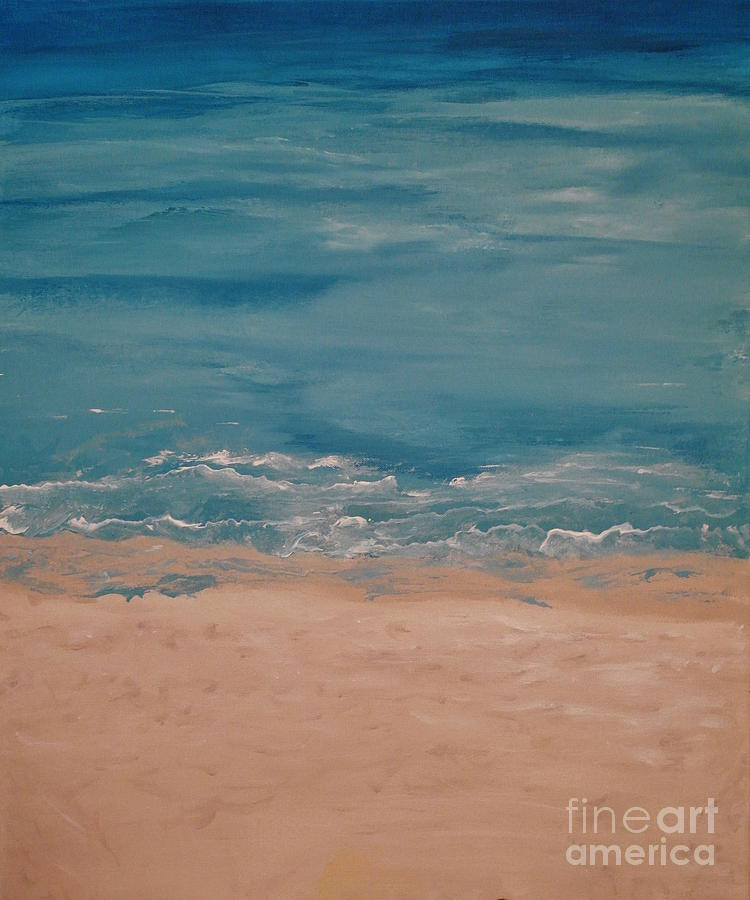Artistic Painting - Siesta Key by Catalina Walker