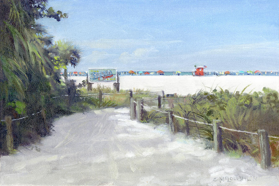 Siesta Key Public Beach Access by Shawn McLoughlin