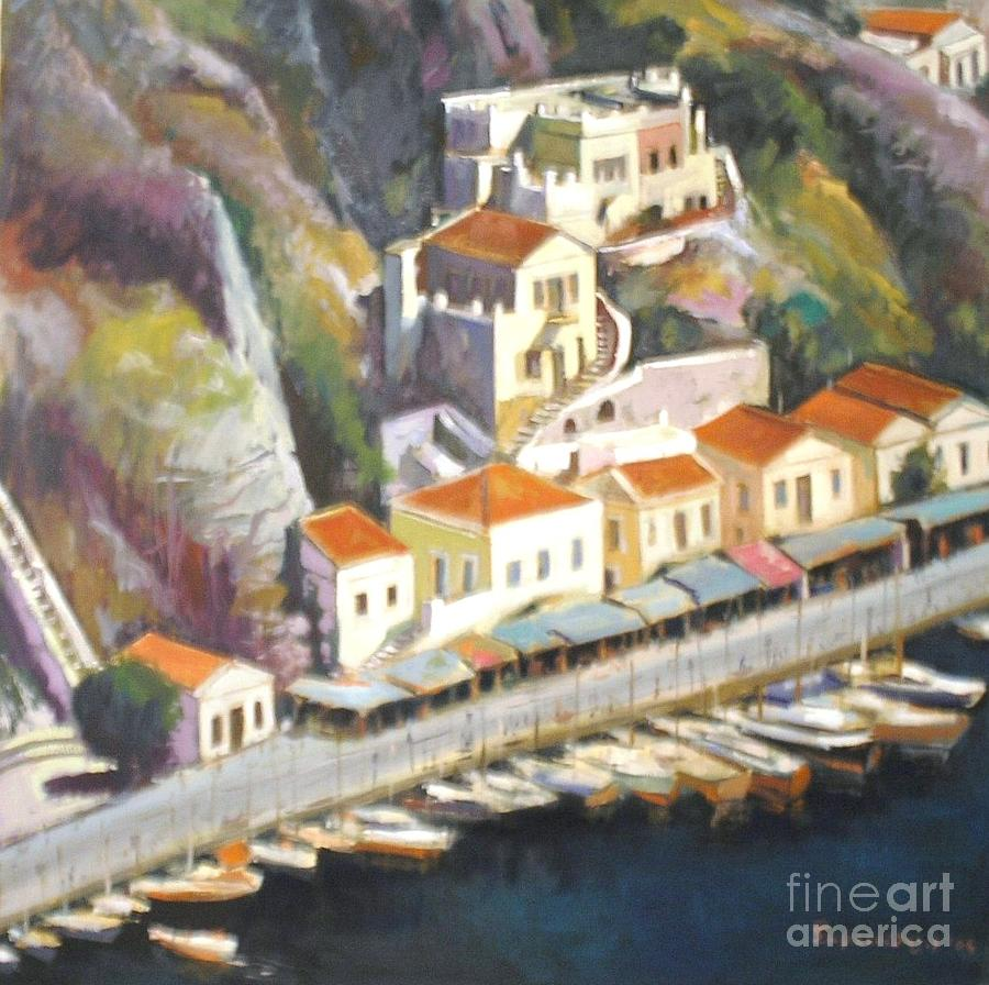 Sifnos  Painting by George Siaba