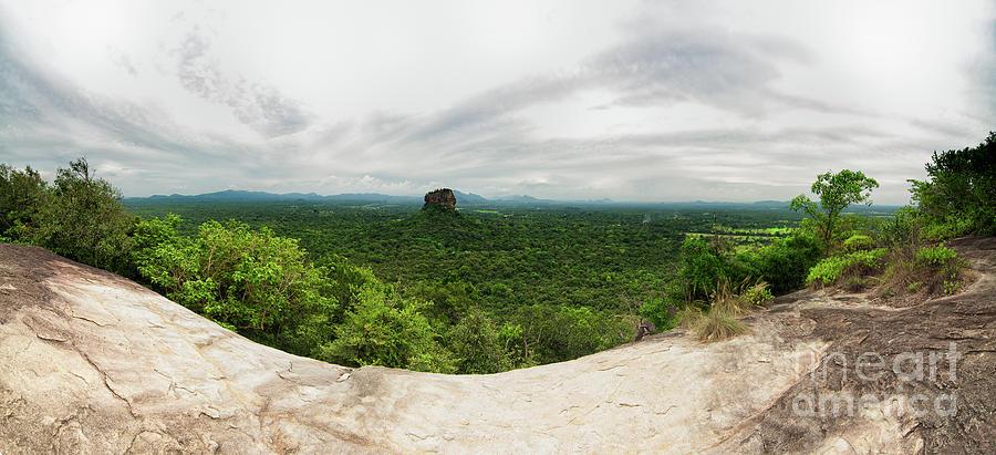 Panorama Photograph - Sigiriya Panorama by Venura Herath