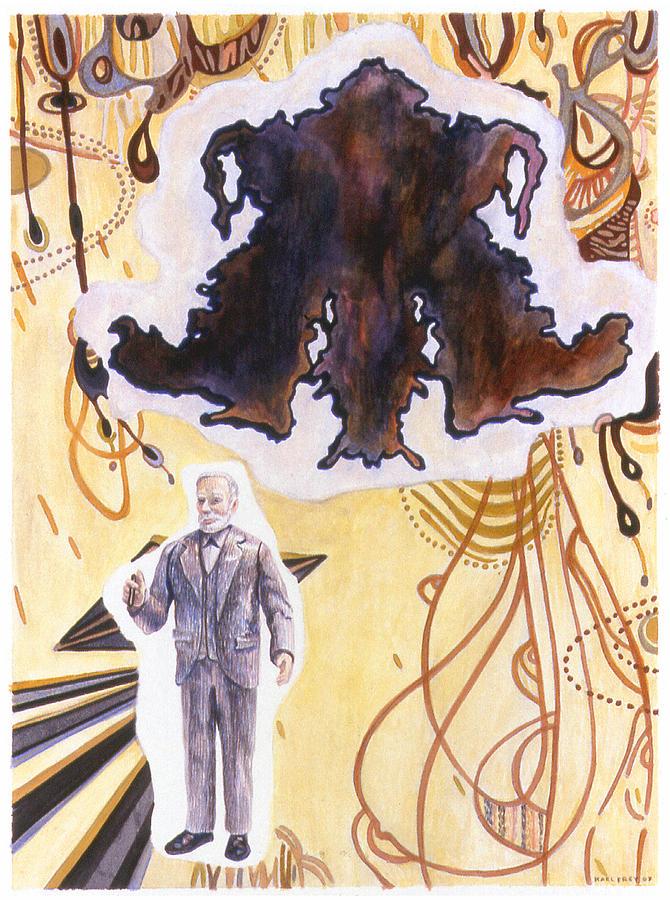 Karl Drawing - Sigmund Freud by Karl Frey