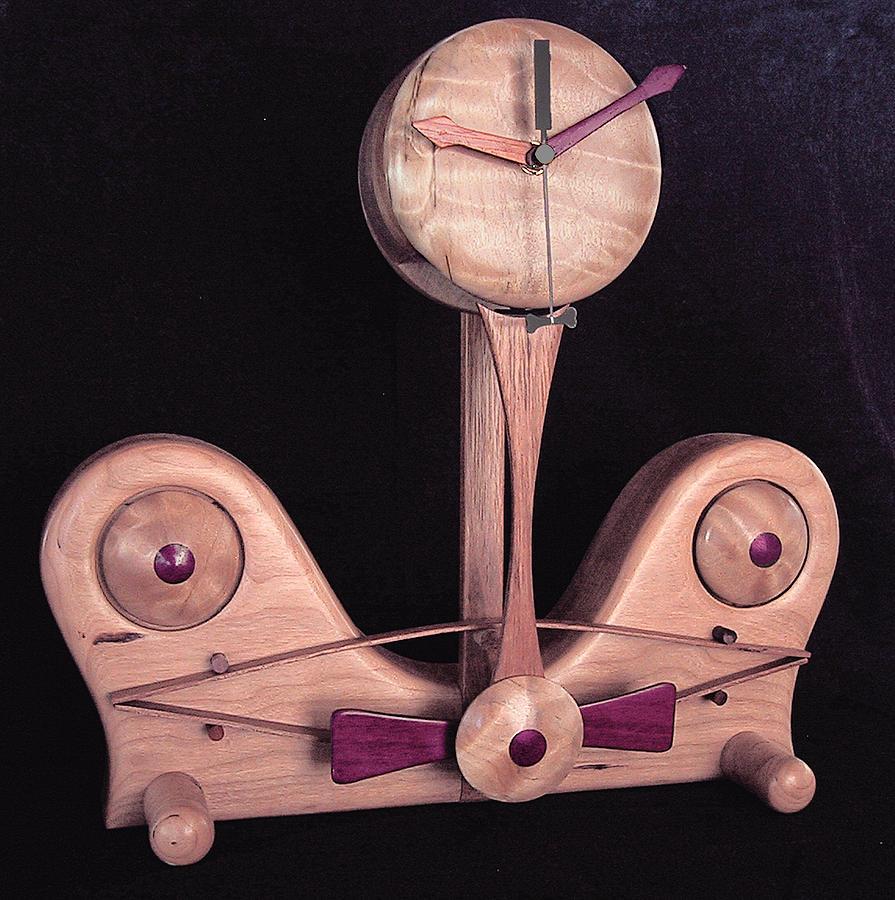 Sigmund Freuds Time Machine Sculpture by Chuck Turigliatto