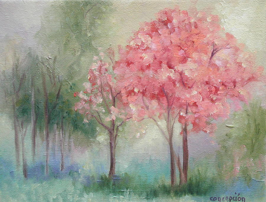 Spring Painting - Sign Of Spring by Ginger Concepcion