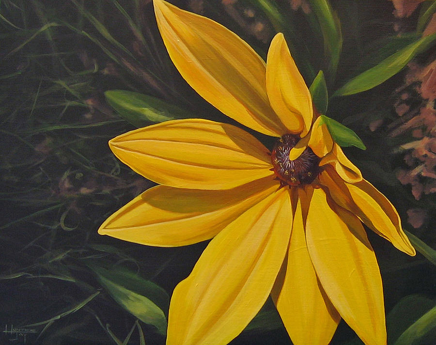 Wildflower Painting - Sign Of Summer by Hunter Jay