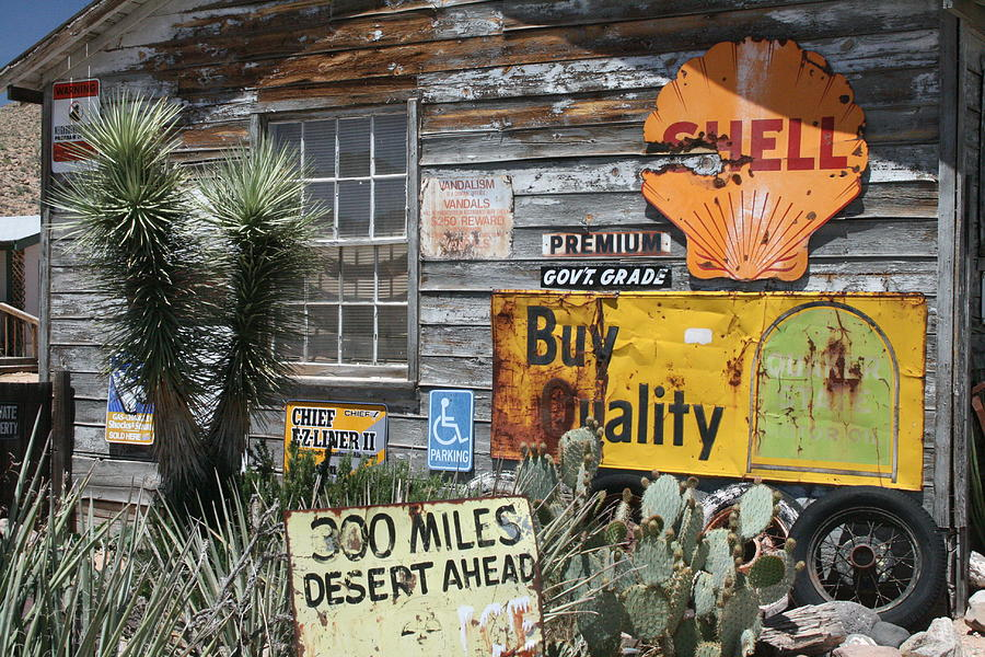 Arizona Photograph - Sign Sign, Everywhere A Sign by Frank Morales Jr