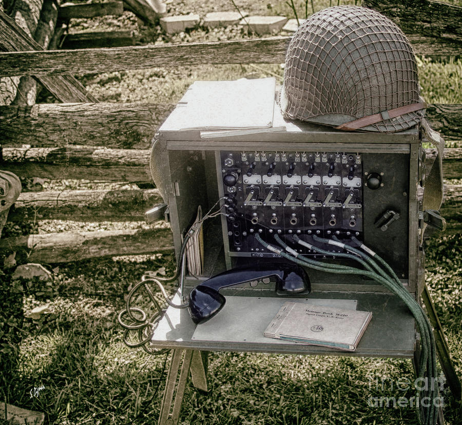 Signal Corps Photograph - Signal Corps U.s. Army  by Steven Digman