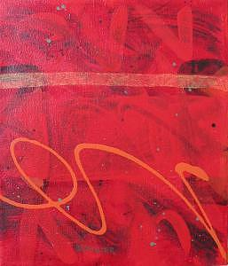 Painting Painting - Signature In Orange by Brad Bannister