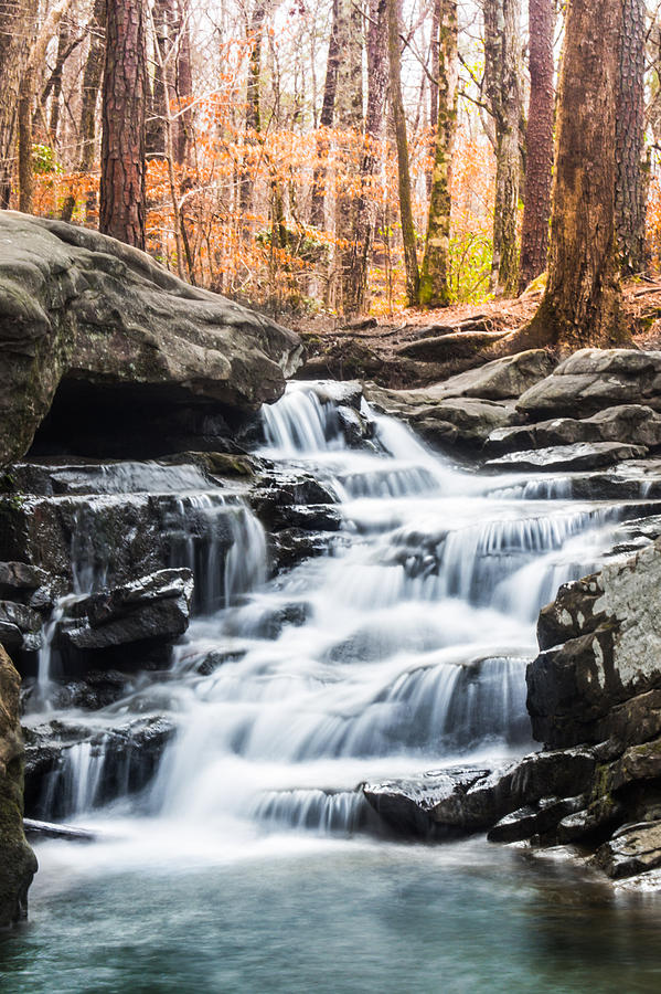 Water Photograph - Autumn at Moss Rock Preserve by Parker Cunningham