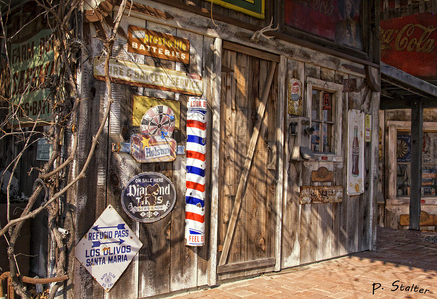 Signs Digital Art - Signs Of The Past by Patricia Stalter